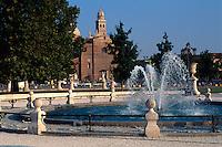 Santa Giustina am Prato della Valle in Padua, Venetien, Italien