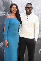 "Idris Elba and fiance<br /> arriving for the premiere of ""Yardie"" at the BFI South Bank, London<br /> <br /> ©Ash Knotek  D3422  21/08/2018"