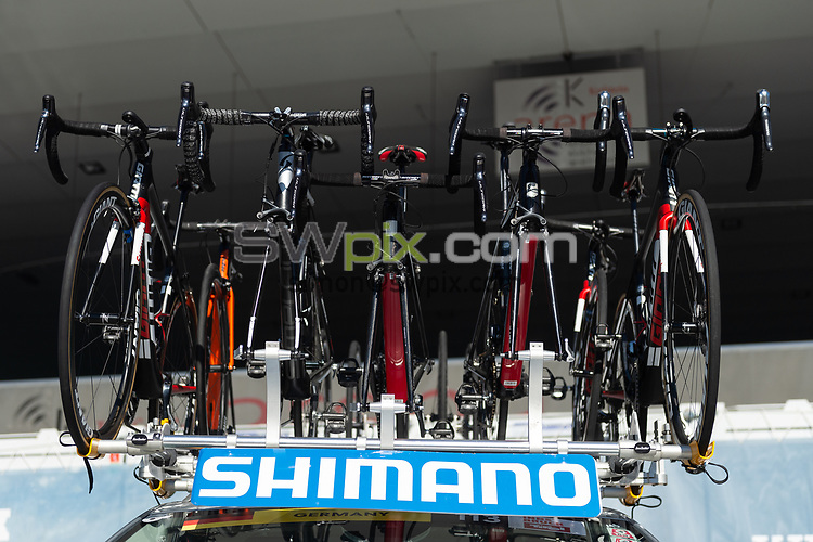Picture by Richard Blaxall/SWpix.com - 27/09/2018 - Cycling 2018 Road Cycling World Championships Innsbruck-Tiriol, Austria - Brief, Shimano