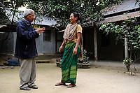 BanGLADESH, Region Madhupur, Garo people, matrilineal society / BANGLADESCH, Madhupur, Garos sind eine christliche u. ethnische Minderheit , Garo folgen einer matrilinearen Abstammungsregel