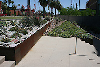 Meinel Optical Science Center Expansion, University of Arizona, Tucson. Joy Lyndes, Landscape Architect.