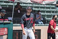 STANFORD, CA - MAY 29: Jonathan Worley before a game between Oregon State University and Stanford Baseball at Sunken Diamond on May 29, 2021 in Stanford, California.