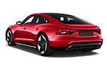 Car pictures of rear three quarter view of 2021 Audi e-tron-GT RS 4 Door Sedan Angular Rear