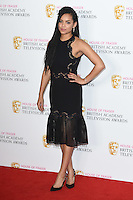 Georgina Campbell<br /> in the winners room at the 2016 BAFTA TV Awards, Royal Festival Hall, London<br /> <br /> <br /> ©Ash Knotek  D3115 8/05/2016