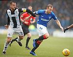 03.11.2018: St Mirren v Rangers: Paul McGinn and Scott Arfield