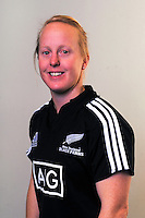 Kendra Cocksedge. New Zealand Black Ferns headshots at The Rugby Institute, Palmerston North, New Zealand on Thursday, 28 May 2015. Photo: Dave Lintott / lintottphoto.co.nz