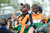 Plenty of musical support for the Indian team during India vs New Zealand, ICC World Test Championship Final Cricket at The Hampshire Bowl on 19th June 2021