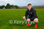 Glenflesk footballer Darragh Roche in training for the 4x4x48 Challenge in aid of the Irish Cancer Society in Barradubh on Saturday