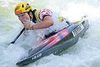 5th September 2021; Parc Olimpic del Segre, La Seu D'Urgell ICF Slalom World Cup, Women's Canoe Final; 2nd place for Tereza Fiserova (CZE)