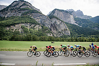 relatively soon into the stage an elite breakaway group was formed with some big hitters present.<br /> <br /> Stage 5: Megève to Megève (154km)<br /> 72st Critérium du Dauphiné 2020 (2.UWT)<br /> <br /> ©kramon