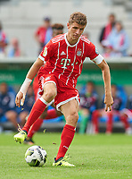 Thomas MUELLER, MUELLER, FCB 25   <br /> CHEMNITZER FC - FC BAYERN MUENCHEN 0-5 <br /> Football DFB Cup 1.round , community4you A R E N A in Chemnitz,12.08.2017<br />  2017 / 2018, DFB-Cup<br /> <br />  *** Local Caption *** © pixathlon +++ tel. +49 - (040) - 22 63 02 60 - mail: info@pixathlon.de