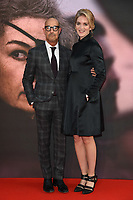 "Stanley Tucci and Felicity Blunt<br /> arriving for the London Film Festival screening of ""A Private War"" at the Cineworld Leicester Square, London<br /> <br /> ©Ash Knotek  D3451  20/10/2018"