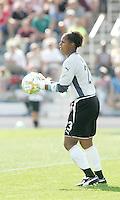 Karina LeBlanc,..Saint Louis Athletica and LA Sol, played to a 0-0 tie at Robert Hermann Stadium in St Louis, MO. April 25 2009.