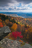 Autumn vista as viewed from the Blue Ridge Parkway