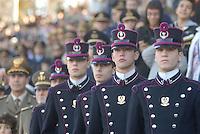 - Milan, feast of Armed Forces for November 4, the victory in first of World War, cadets of Teuliè Military School<br /> <br /> - Milano, festa delle Forze Armate nella ricorrenza del 4 Novembre, vittoria  della prima Guerra Mondiale, allievi della Scuola Militare Teuliè