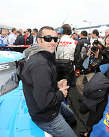 DAYTONA BEACH, FL - JANUARY 26,2008:  Ashley Judd's husband Driver Dario Franchitti at the the Rolex 24 of Daytona at Daytona International Speedway January 26, 2008 in Daytona Beach, Florida<br /> <br /> People:   Dario Franchitti