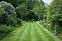 Vegetable Garden borders, looking west, Vann House and Garden, Surrey, mid June.