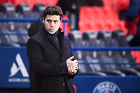 9th January 2021, Paris, France; French League 1 football, St. Germain versus Stade Brest;  MAURICIO POCHETTINO new trainer for PSG