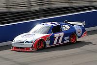 Feb 20, 2009; Fontana, CA, USA; NASCAR Sprint Cup Series driver Sam Hornish Jr during practice for the Auto Club 500 at Auto Club Speedway. Mandatory Credit: Mark J. Rebilas-