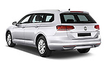 Car pictures of rear three quarter view of a 2015 Volkswagen Passat Comfort 5 Door Wagon Angular Rear