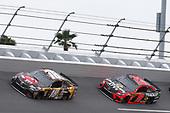 #18: Kyle Busch, Joe Gibbs Racing, Toyota Camry M&M's Chocolate Bar #19: Martin Truex Jr., Joe Gibbs Racing, Toyota Camry Bass Pro Shops/Tracker ATVs Toyota