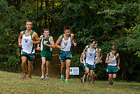 Woodlawn Varsity Cross Country runners compete at  Charlotte Latin in Charlotte, North Carolina.<br /> <br /> Charlotte Photographer - PatrickSchneiderPhoto.com