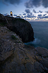 Cliffs and lighthouse St. Vincente, the most South West corner of Protugal and Mainland Europe.