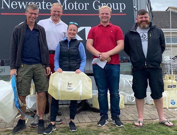 RS 200 winners - Frank O'Rourke & Rachel O'Leary