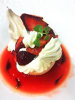 Chef's Olivier Reginensi dessert dish