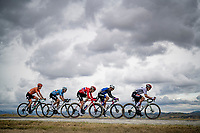 John Degenkolb (DEU/Lotto-Soudal) leading the way<br /> <br /> Men's Elite Road Race from Imola to Imola (258km)<br /> <br /> 87th UCI Road World Championships 2020 - ITT (WC)<br /> <br /> ©kramon