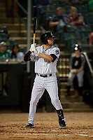 Jackson Generals Drew Ellis (29) at bat during a Southern League game against the Mississippi Braves on July 23, 2019 at The Ballpark at Jackson in Jackson, Tennessee.  Mississippi defeated Jackson 1-0 in the second game of a doubleheader.  (Mike Janes/Four Seam Images)