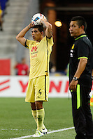 Harrison, NJ - Wednesday July 06, 2016: Erik Pimentel, Ignacio Ambriz during a friendly match between the New York Red Bulls and Club America at Red Bull Arena.