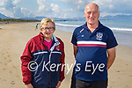 Marion and Tommy Casey enjoying a stroll in Banna on Saturday, who are also doing their 5k walk for the Causeway GAA clubs Pieta House fundraiser.