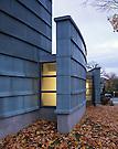 Rick Burt Architect.Farmington Library Addition.Farmington, Me