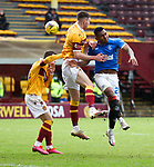 17.01.2021 Motherwell v Rangers: Alfredo Morelos and Declan Gallagher