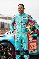 Dylan Pereira, #33 TF Sport Aston Martin Vantage AMR LMGTE Am, 24 Hours of Le Mans , Group Photo, Circuit des 24 Heures, Le Mans, Pays da Loire, France