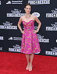 Kimberly Williams-Paisley attends The Disney PLANES: FIRE & RESCUE Premiere held at The El Capitan Theatre in Hollywood, California on July 15,2014                                                                               © 2014 Hollywood Press Agency