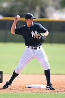 March 17th 2008:  Damon Sublett of the New York Yankees minor league system during Spring Training at Legends Field Complex in Tampa, FL.  Photo by:  Mike Janes/Four Seam Images