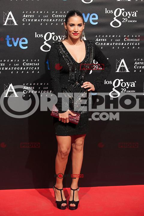 India Martinez poses before the 2015 Goya Awards nominee ceremony in Madrid, Spain. January 19, 2015. (ALTERPHOTOS/Victor Blanco)