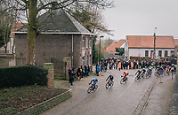 the peloton is back in town!<br /> <br /> 74th Omloop Het Nieuwsblad 2019 <br /> Gent to Ninove (BEL): 200km<br /> <br /> ©kramon