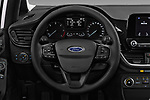 Car pictures of steering wheel view of a 2017 Ford Fiesta Business-Class 5 Door Hatchback Steering Wheel