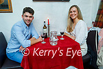 Enjoying the evening in Cassidy's on Friday, l to r: Derek Healy and Christine Mortimer.