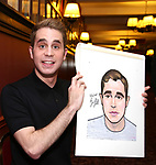 Ben Platt Sardi's Portrait Unveiling