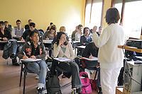 - University of Milan, course of nursing at the Hospital S. Carlo....- Università di Milano, corso di infermieristica presso l'ospedale S.Carlo