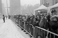 Les funerailles<br />  du hockeyeur Jean Beliveau, le 10 decembre 2014<br /> , a la basilique Marie-Reine-du-Monde<br /> <br /> PHOTO : Agence Quebec Presse - stringer