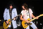 Various live photographs of the rock band, Georgia Satellites.
