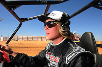 Apr 15, 2011; Surprise, AZ USA; LOORRS driver Robby Woods (99) during round 3 and 4 at Speedworld Off Road Park. Mandatory Credit: Mark J. Rebilas-.