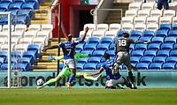 12th September 2020; Cardiff City Stadium, Cardiff, Glamorgan, Wales; English Championship Football, Cardiff City versus Sheffield Wednesday; Josh Windass of Sheffield Wednesday scores his sides goal in the 4th minute in the match
