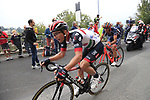Jan Polanc (SLO) UAE Team Emirates climbs the Superga for the 1st ascent during the 99th edition of Milan-Turin 2018, running 200km from Magenta Milan to Superga Basilica Turin, Italy. 10th October 2018.<br /> Picture: Eoin Clarke | Cyclefile<br /> <br /> <br /> All photos usage must carry mandatory copyright credit (© Cyclefile | Eoin Clarke)