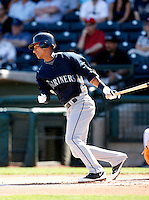 Ronny Cedeno -  Seattle Mariners - 2009 spring training.Photo by:  Bill Mitchell/Four Seam Images